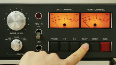 stock-footage-finger-pushing-the-play-and-stop-button-on-vintage-classic-tape-reel-audio-recorder